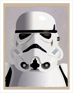 Star Wars Stormtrooper Poster 11x14 or 16x20 Print by aswegoArts, $17.50
