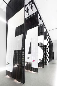 Branded Installations and Environmental Graphics: Nike Studio Beijing via Display Design, Booth Design, Store Design, Pos Display, Product Display, Signage Design, Environmental Graphic Design, Environmental Graphics, Gym Design