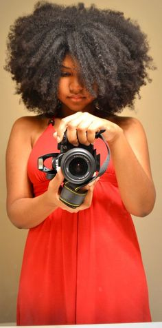 Crystal // 3C/4A Natural Hair Style Icon | Black Girl with Long Hair