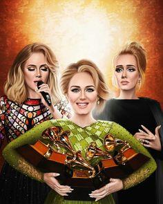 Adele Grammys, Grammys 2017, Adele Live, Adele 25, Art Music, Music Artists, Adele Instagram, Adele Adkins, Bae