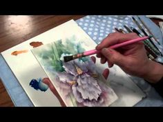 ▶ Chris Ryder - IRIS - Porcelain Painting (Final Stage of the Second Fire) - YouTube