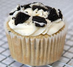 Cookies and Cream Cupcakes Recipe