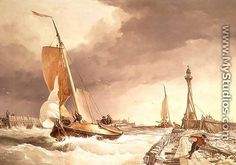 Edward William Cooke paintings - Google Search