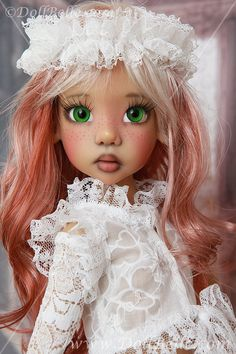 Dolls In Lace And Pearls Just Like Little Girls~ Kaye Wiggs