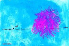"Saatchi Art Artist Paul Megens; Painting, ""a thought materializing"" #art"