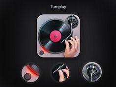 Turnplay App icon by kaiZORO.deviantart.com on @deviantART