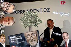 České prezidentské volby 2018 - Mirek Topolánek/Czech Presidential Election 2018 - Mirek Topolanek Content, Marketing