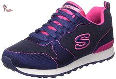 Skechers Synergy-Moonlight Madness - Sneaker, Femme, Bleu (bllb), Taille 37