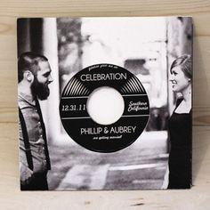 Setting a new record: unusual wedding invitations | ELLE UK