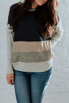 Goldie Colorblock Sweater