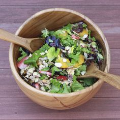 citrus almond salad with poppyseed dressing  - perfect summer salad