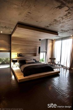 Wow. Love everything about this bedroom. Aupiais House by Site Interior Design » CONTEMPORIST