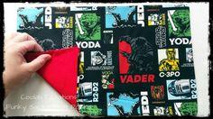 Custom Heat Pack in the making. (y) (Tags: Star Wars, Heat Pack, Sacks, Packing, Handmade, Bag Packaging, Starwars, Craft, Star Wars Art