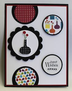Another card I made with Bright Blossoms that will be in the 2012-2013 Stampin Up catalog