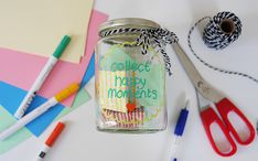 DIY | Lichtpuntjes verzamelen - ThankGodItIsMonday.nl Measuring Spoons, Diys, In This Moment, God, Dios, Bricolage, Do It Yourself, Measuring Cups, Fai Da Te