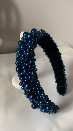 Jewelry Accessories Videos For Prom - Jewelry Jeweled Headband, Pearl Headband, Diy Headband, Beaded Headbands, Fabric Headbands, Crystal Headband, Rhinestone Headband, Headband Styles, Prom Jewelry
