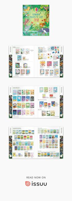 Usborne Catalogue 2018 Toddler Crafts, Kids And Parenting, Periodic Table, Catalog, Activities, Reading, Books, Periotic Table, Livros