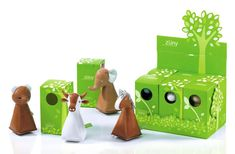 These toys are not only adorable but the packaging is so so cool.