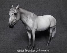 resin modelhorses gallery - anja-franke-artworks model horses animal portraits