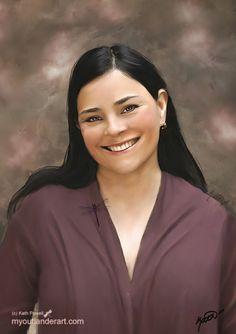 Diana Gabaldon by Kath Powell