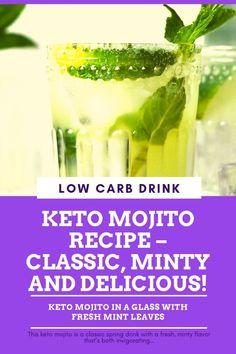 Best Keto Diet Plan – Best Solution for Weigh Loss Low Carb Liquor, Low Carb Drinks, Low Carb Smoothies, Diet Plan Menu, Keto Diet Plan, Keto Foods, Diabetic Drinks, Mojito Recipe, Smoothie Recipes
