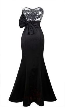Women's Mermaid Cocktail Formal Bridesmaid Dress Strapless Sequin Formal Gown