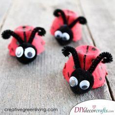 Cute Ladybugs - Easter Decor
