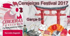 31ª Cerejeiras Festival 2017 - Garça-SP Hanami Sakura Matsuri Festival