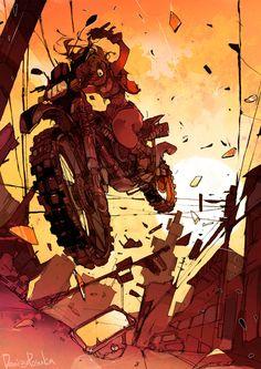 The Art Of Animation, Demizu Posuka Character Art, Character Design, Image Manga, Animation, 2d Art, Zombies, Digital Illustration, Art Inspo, Art Reference