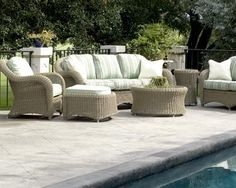 High Quality American Patio Furniture By DesignWicker.com Sold By Patio Barn! #patiobarn  #patio