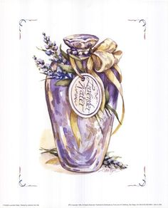 Lavender Water by Jerianne Van Dijk art print