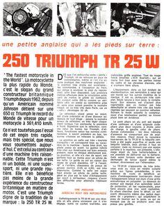 1970 Triumph 250 TR 25 W 1 | Flickr - Photo Sharing!