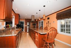 Kitchen Remodel With Island Completed In The Washington Dc Area And