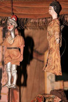 Antique Marionettes.