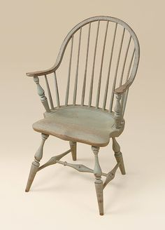 Primitive Antique Spindle Back Chair Urban By