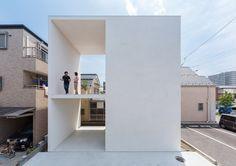Two patios cut through Little House Big Terrace