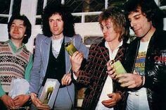 Roger's face- no, John's face- NO. All their faces