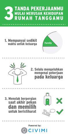 3 Tanda Pekerjaan Mulai Merusak Kehidupan Rumah Tanggamu (Infographic)