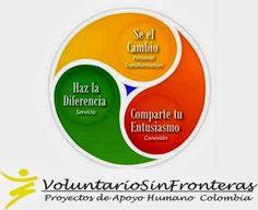 VoluntarioSinFronteras -Proyectos de Apoyo Humano- MEDELLIN Colombia: ¡¡ FELIZ ANIVERSARIO Compañeros VoluntarioSinFront...