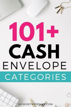 Looking for cash envelope categories? Here are 101+ category ideas that you can include in your budget. Budget App, Budget Binder, Monthly Budget, Best Budget, Investing Money, Saving Money, Apps For Couples, Dave Ramsey Debt Snowball, Budget Sheets