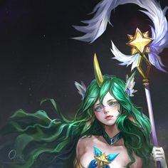 Fan Art ! Star Guardian soraka by OrekiGenya