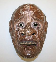 Mask  Date: 19th century Culture: Japanese Medium: wood
