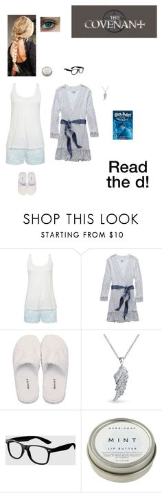 """""""The Covenant: Be Prepared (Read the d!)"""" by nerdbucket ❤ liked on Polyvore featuring Été Swim, Aerie, GANT, Bling Jewelry, La Senza, CB2, bedroom and bathroom"""