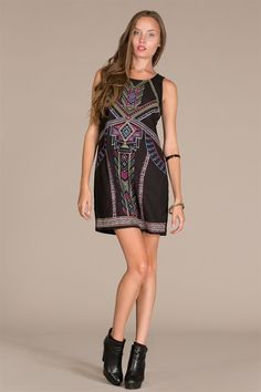 Longhorn Fashions - Black Embroidered Dress, $42.00 (http://www.longhornfashions.com/black-embroidered-dress/)