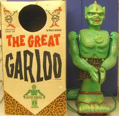 vintagetoyarchive: MARX: 1961 THE GREAT GARLOO Rolling Monster Robot