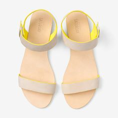 Easy On Sandal in Natural / Kate Spade Saturday