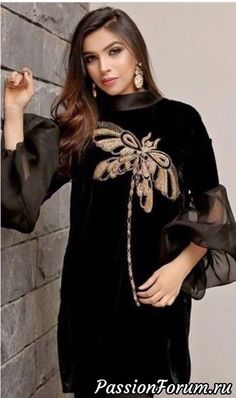 Ideas for dress beautiful formal glamour Stylish Dresses, Nice Dresses, Casual Dresses, Short Dresses, Mode Abaya, Mode Hijab, Abaya Fashion, Fashion Dresses, Hijab Gown
