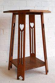 Marvellous Furniture - An Arts & Crafts Oak Plant Table