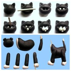 How to cat cake topper