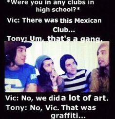 hahaha Pierce the Veil